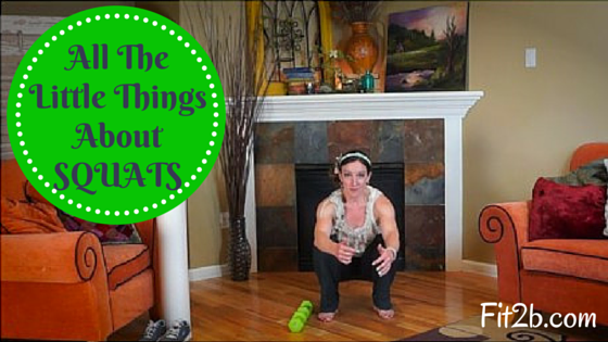 Squatting is thought of as the simplest way to work your core abdominal muscles and lower body and legs PLUS your pelvic floor BUTT (mispelling intended since squats work your glutes) BUT many people do them wrong and approach them incorrectly. And if you squat poorly, you won't get the results you want like a flatter tummy and perkier tush.  - Fit2b